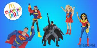 Super Hero Girls e Liga da Justiça são os brindes do. e986ca3c62