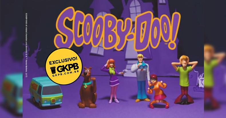 King Jr traz novos brinquedos do Scooby-Doo! ao Burger King