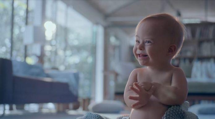 Bebê Johnson's com Síndrome de Down