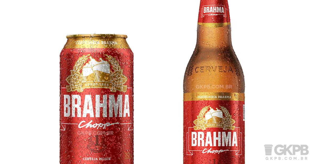 Favoritos Brahma apresenta novo logo e novas embalagens - Geek Publicitário IU04