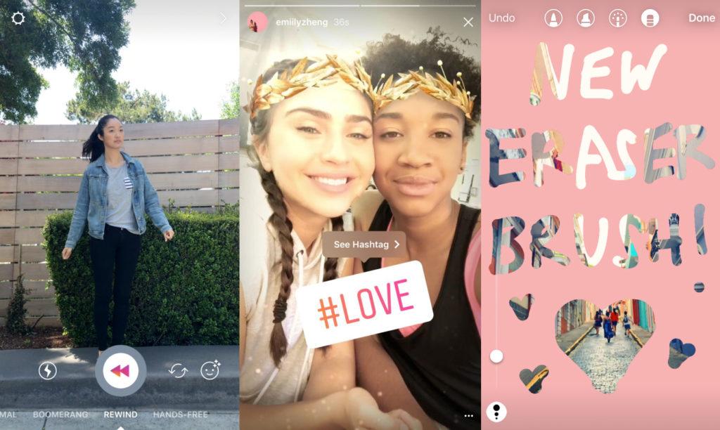 Instagram copia até os filtros do Snapchat
