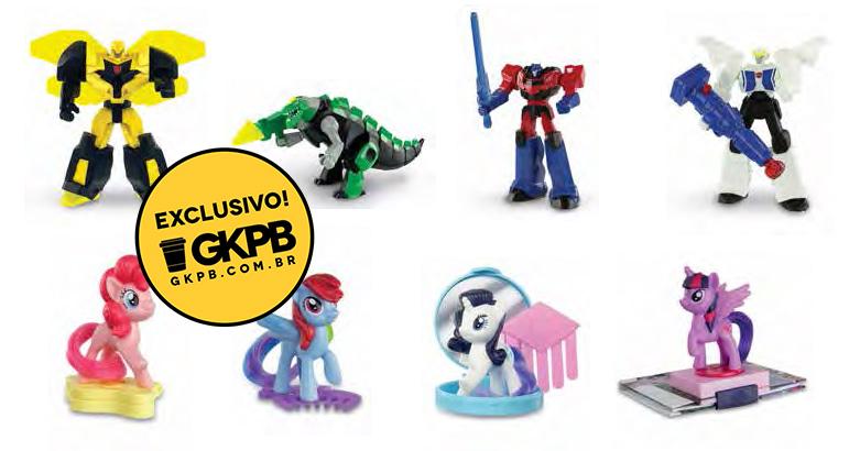McLanche Feliz de junho traz brindes de Transformers e My Little Pony
