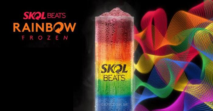 Skol Beats Rainbow Frozen é edição limitada especial para público LGBT