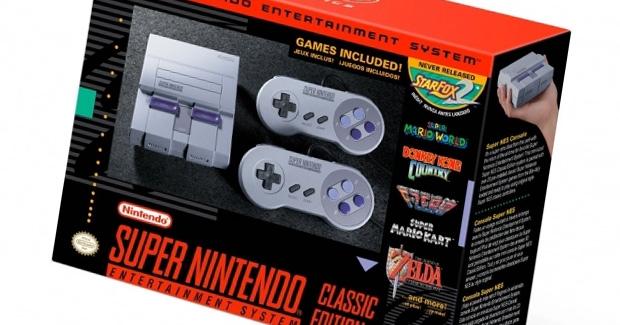 SNES Classic Edition deve chegar oficialmente ao Brasil custando mil reais