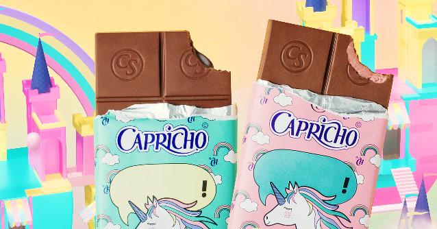 Capricho e Cacau Show lançam linha de chocolates