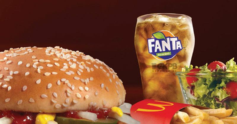 McDonald's vai substituir Kuat por Fanta Guaraná