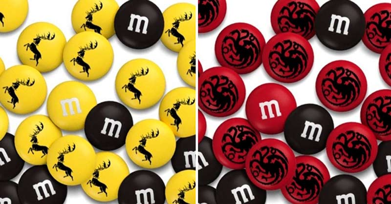 M&M's lança chocolates inspirados em Game of Thrones