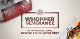Todos nós sabemos que ser demitido é um saco, mas também sabemos que receber um Whopper grátis não é. Por isso, a Burger King lança essa deliciosa ação!