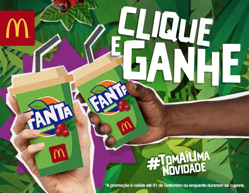 Resultado de imagem para Fanta está distribuindo 1 milhão de cupons de Fanta Guaraná grátis pelo Facebook