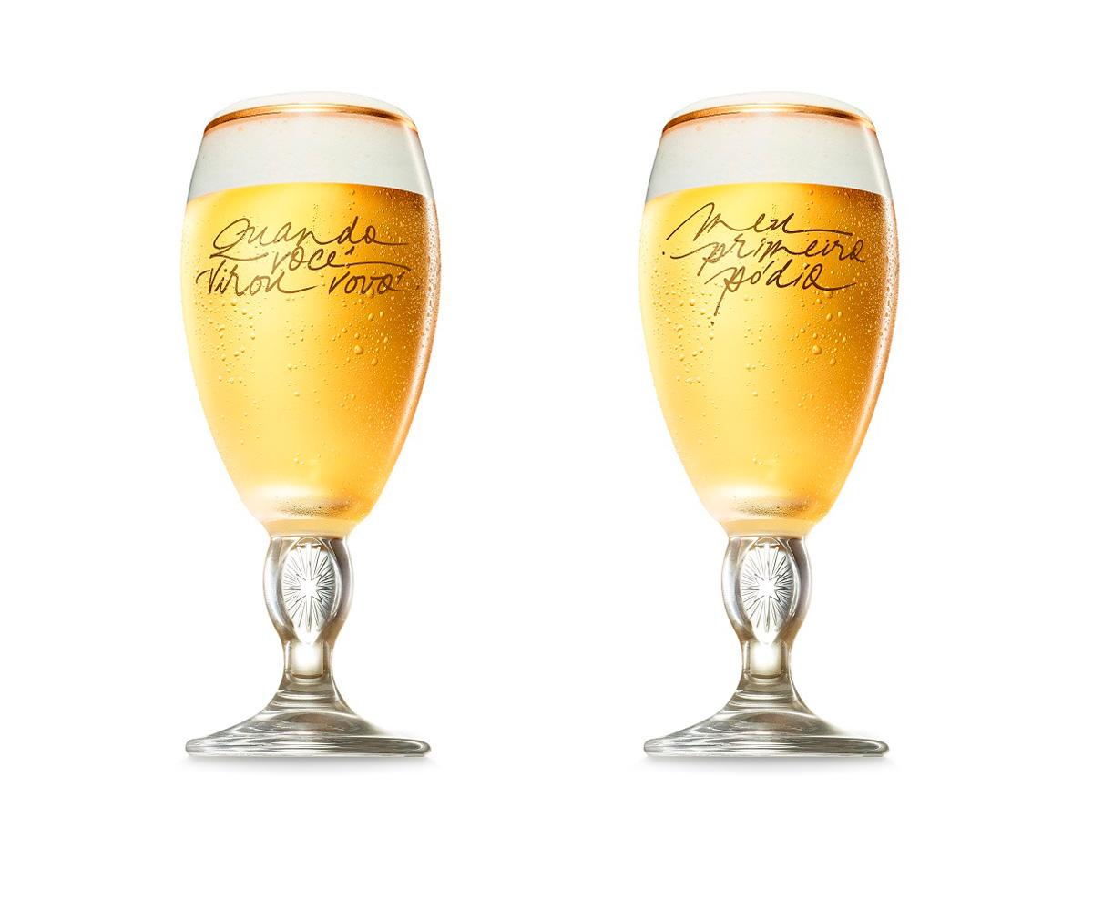 Resultado de imagem para Cálices exclusivos de Dia dos Pais Stella Artois