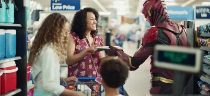 Walmart lança comercial com o Flash da Liga da Justiça