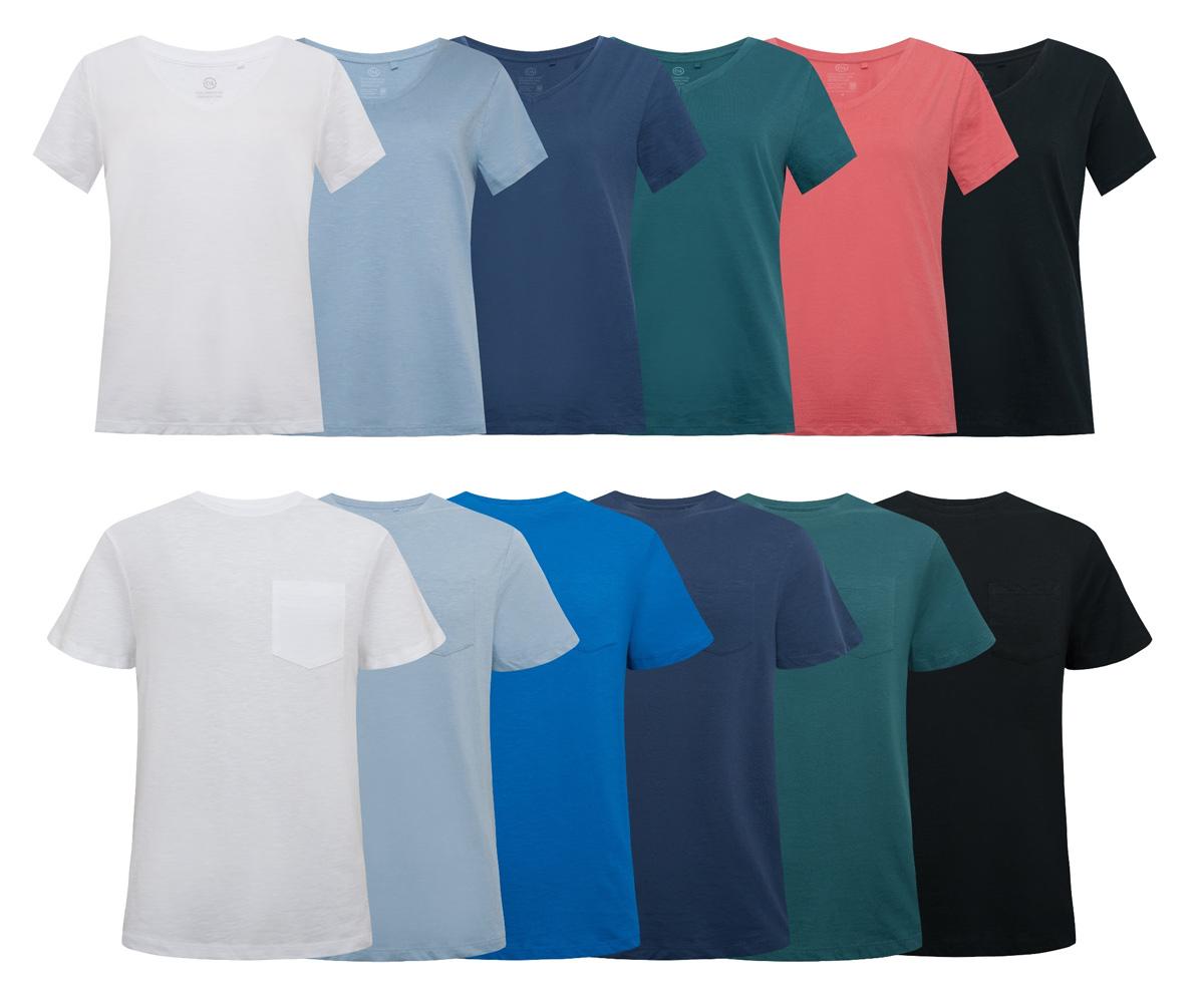 3e24bae307 Camisetas circulares da C A serão lançadas em versões masculinas ou  femininas.