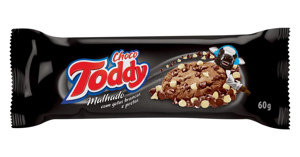 Resultado de imagem para Toddy apresenta novo Choco Toddy Cookie Malhado