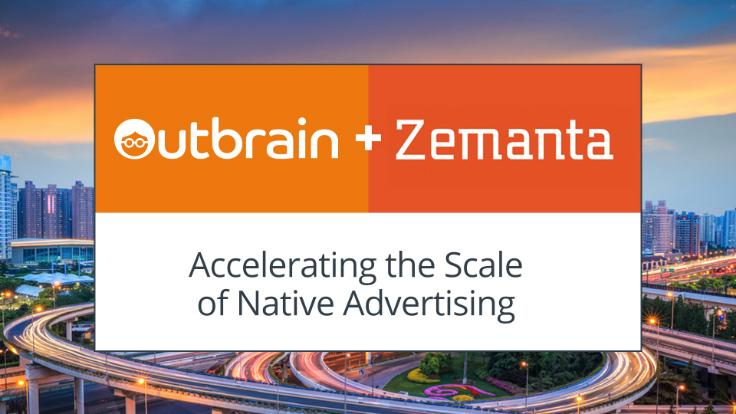 Outbrain compra Zemanta, plataforma líder dedicada a programática