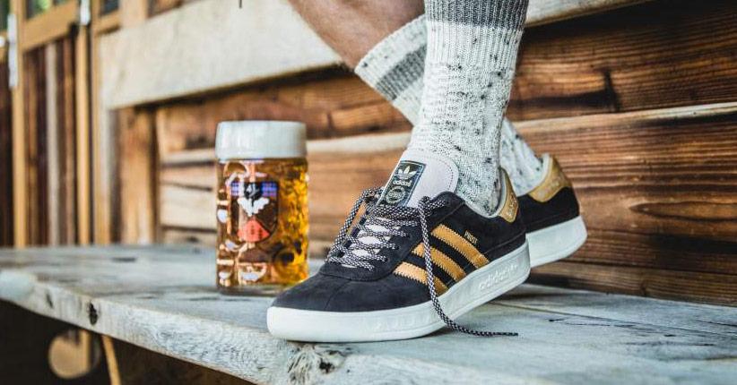 Adidas lança tênis à prova de cerveja para Oktoberfest