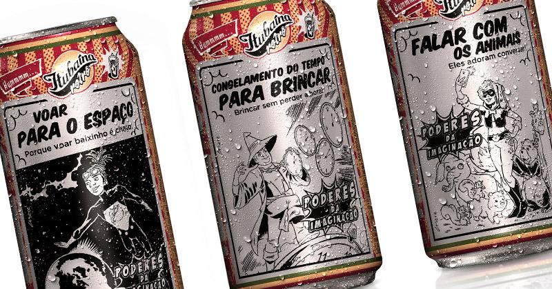 Itubaína lança latinhas inspiradas em superpoderes