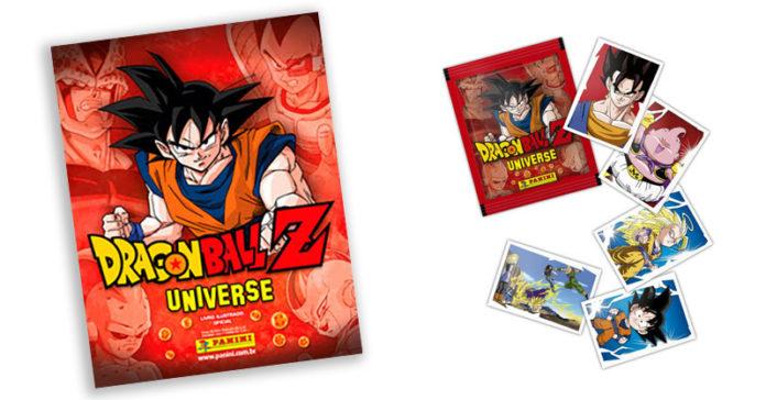 7bede21e3ea Panini lança álbum de figurinhas com saga completa de Dragon Ball Z ...