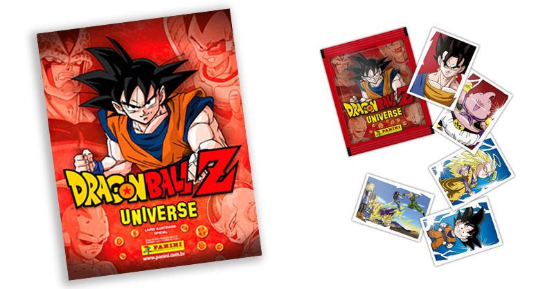 Panini lança álbum de figurinhas com saga completa de Dragon Ball Z