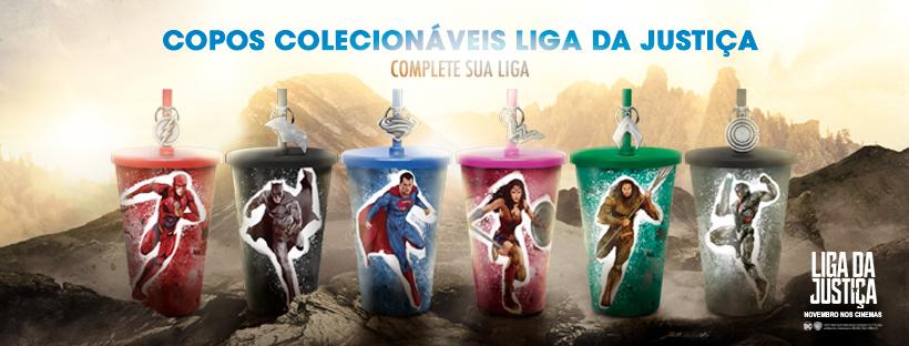 Nutty Bavarian lança coleção de copos da Liga da Justiça