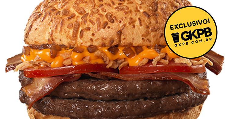 Bob's apresenta novo sanduíche Artesanal Bourbon Bacon