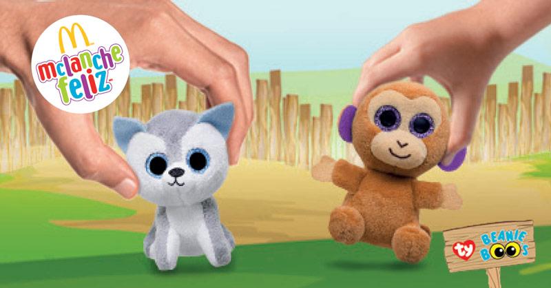 McLanche Feliz traz brinquedos do Beanie Boo's em janeiro de 2018
