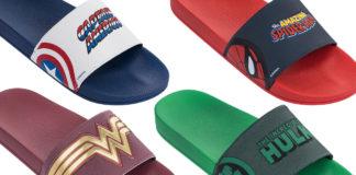 Rider lança coleção de chinelos inspirada em personagens da Marvel e. a643b4098a
