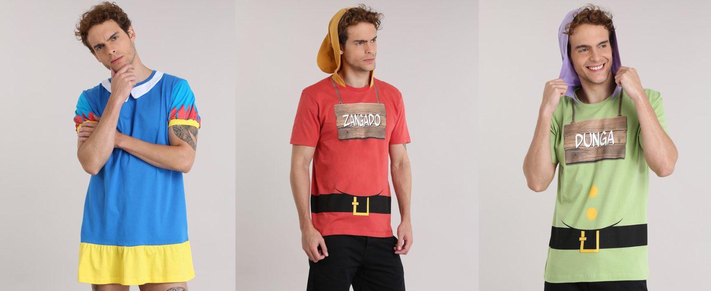1e29f16cc C A lança coleção de Carnaval com direito a camiseta masculina da ...