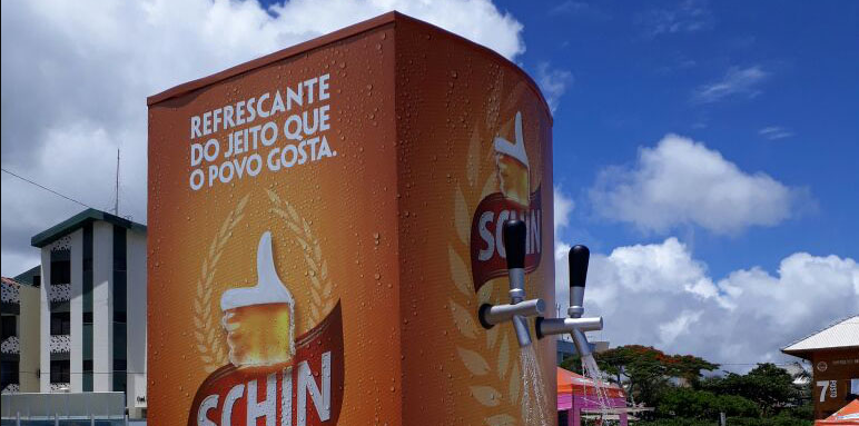Schin disponibiliza chuveirões sustentáveis para amenizar o calor do verão