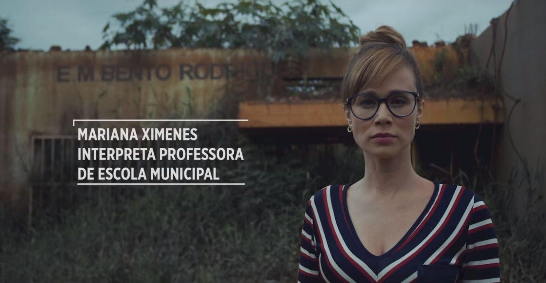Mariana Ximenes quer que você não se esqueça do desastre de Mariana, o município