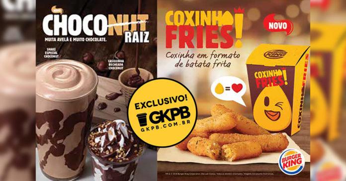 e3299e6fd8da2 Coxinha Fries e Choconut  Burger King lança coxinhas no formato de ...