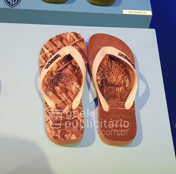 b7bab7e02 Havaianas anuncia sandálias inspiradas em Game of Thrones - Geek ...