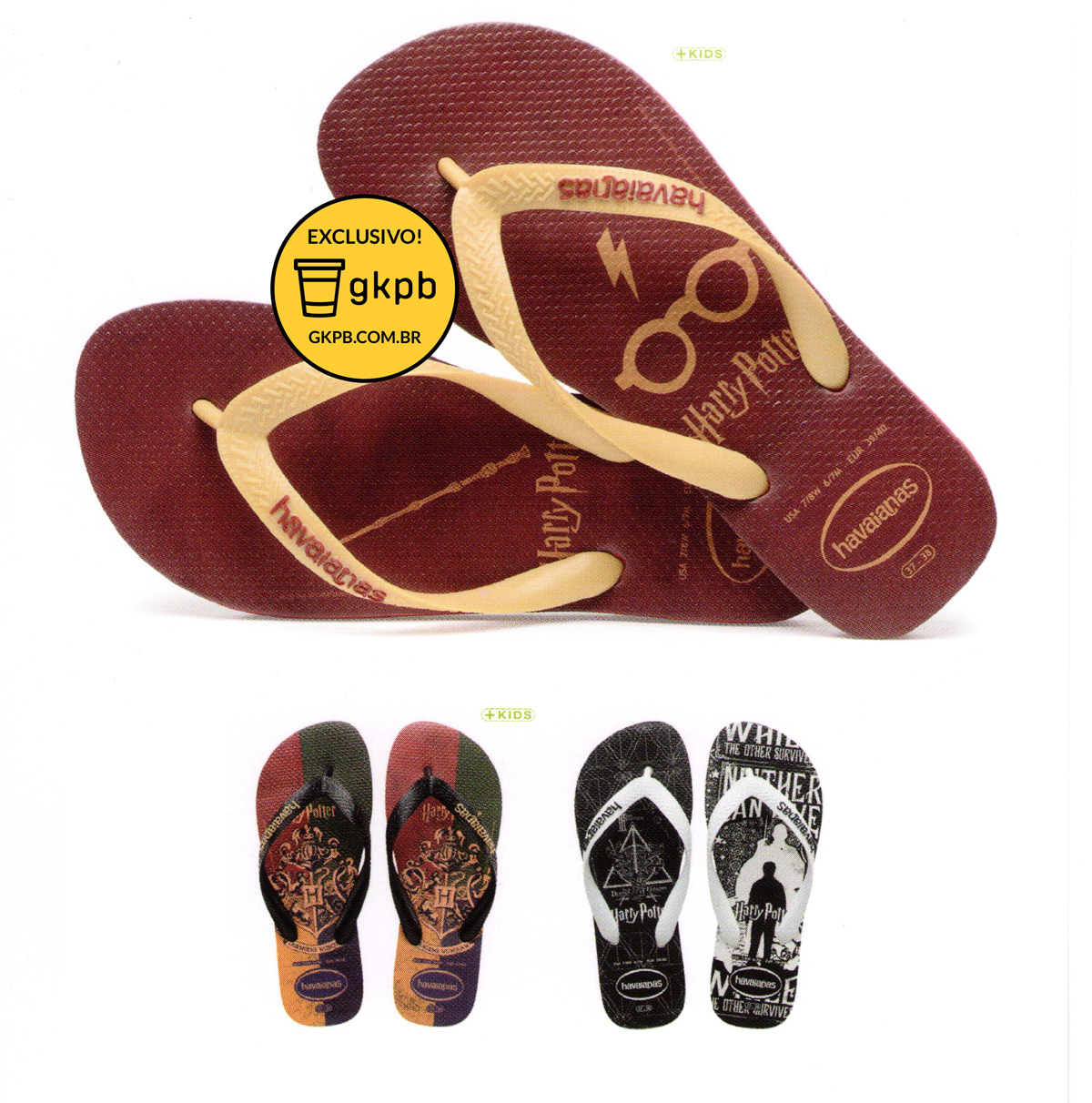 Image result for havaianas harry potter