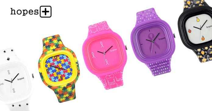 Hopes+  escolha um relógio e ajude a uma causa de sua preferência ... bf58b75a42