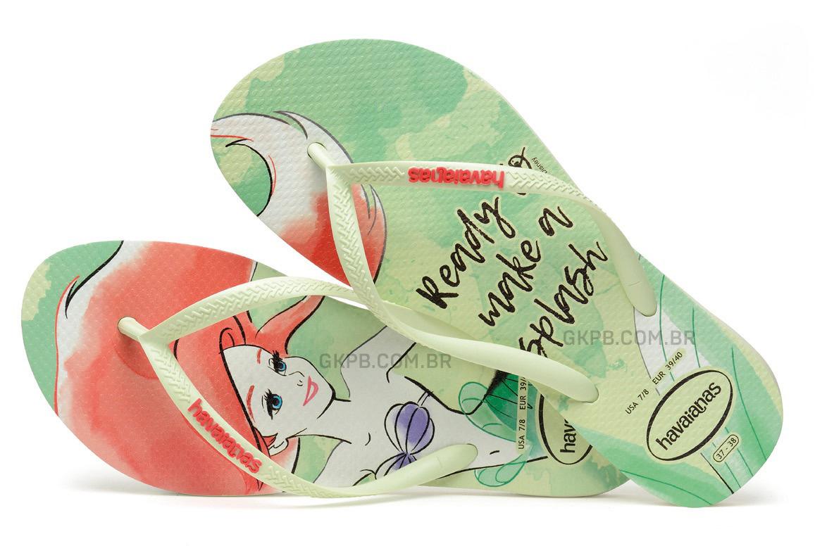 48feea8f3a Havaianas lança coleção de sandálias inspiradas nas princesas Disney ...
