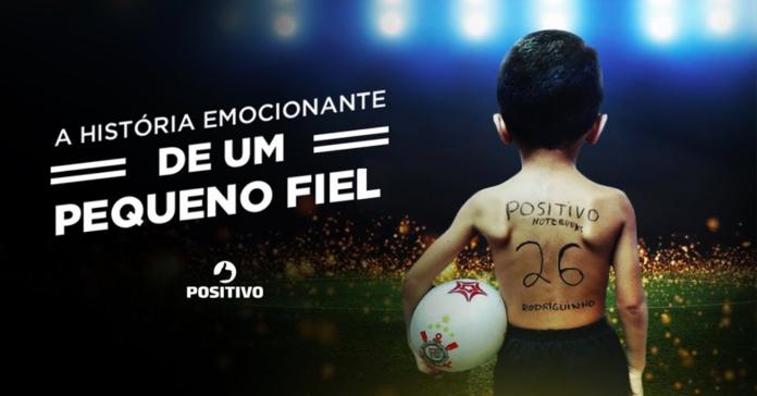 "Positivo leva ""Pequeno Fiel"" para Arena Corinthians - Geek Publicitário db1cda10cbd67"