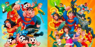 Turma da Mônica e DC Comics juntos. É crossover que você. a33e4cce75
