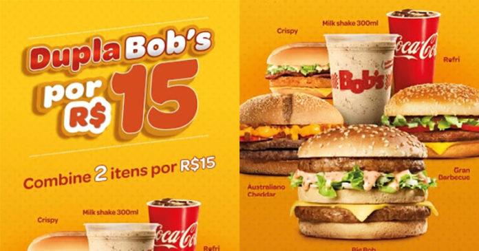 6e84d094ac1ca Dupla Bob s  combine dois produtos do Bob s por apenas R  15 - Geek ...