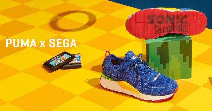 8d9063f923d Puma lança tênis inspirados em Sonic no Brasil - Geek Publicitário