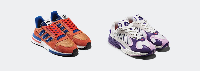 4a2fee97939 Adidas lança coleção inspirada em Dragon Ball Z no Brasil - Geek ...