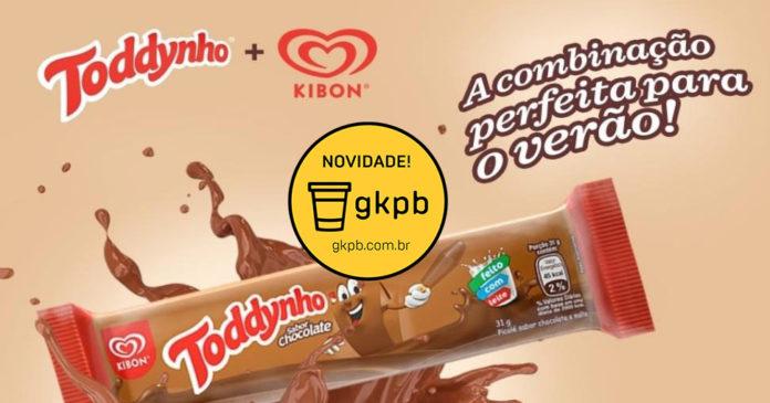 22fa37d0454f Kibon lança sorvete Toddynho sabor chocolate - Geek Publicitário