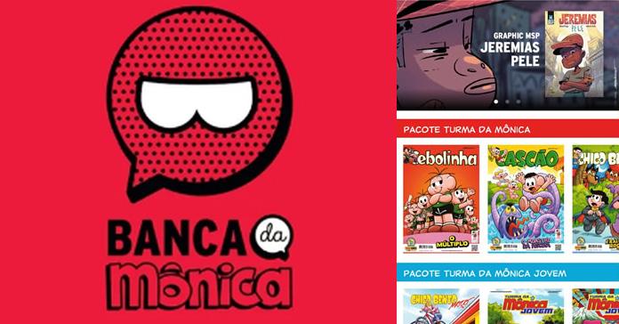 Tem Na Web - Turma da Mônica (relança?) banca online com todos seus gibis