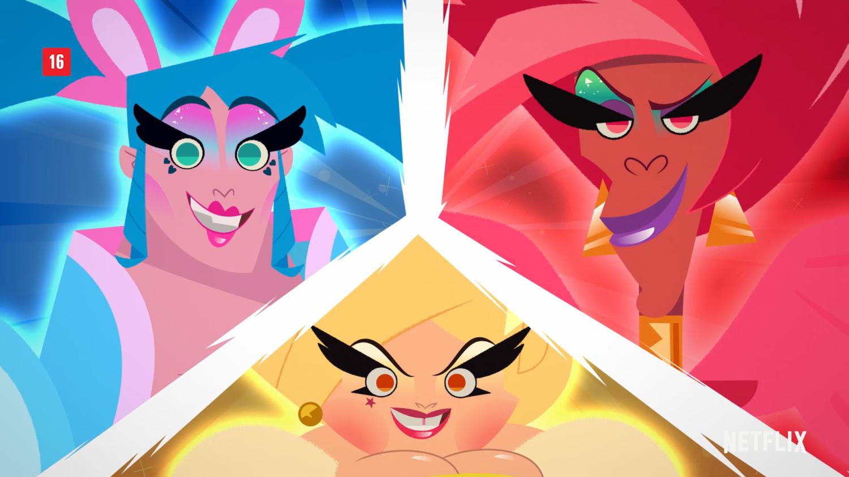 Tem Na Web - Nova animação da Netflix ?Super Drags? ganha seu primeiro trailer