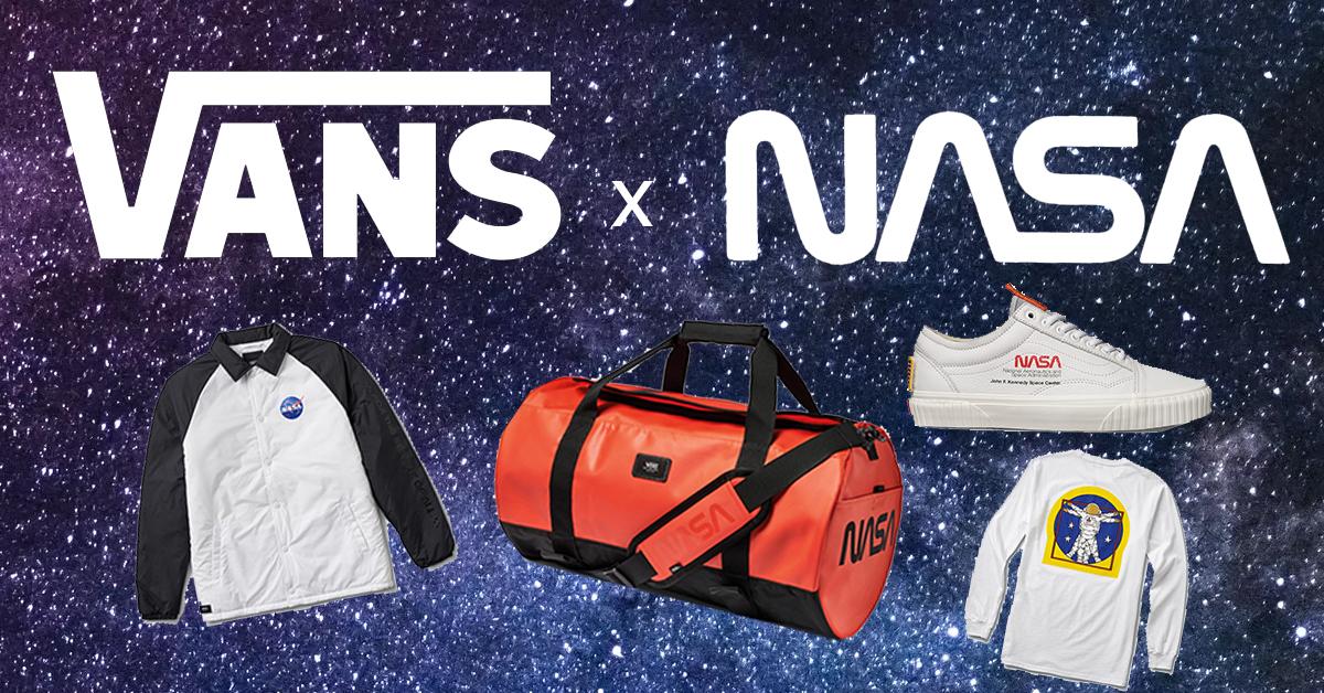 Tem Na Web - Vans lança coleção inspirada na NASA