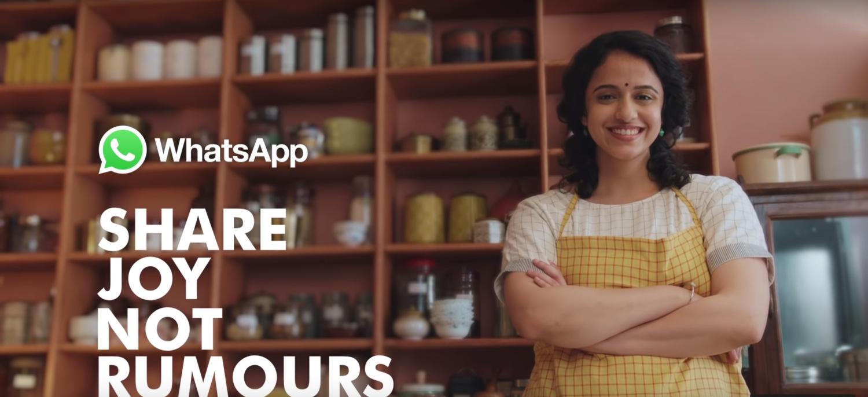 Tem Na Web - WhatsApp lança comercial contra Fake News na Índia