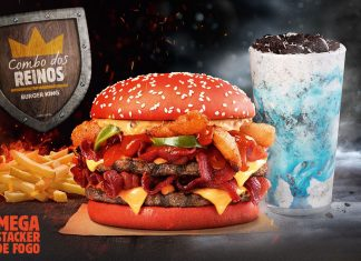 Combo dos Reinos inspirado em Game of Thrones no Burger King
