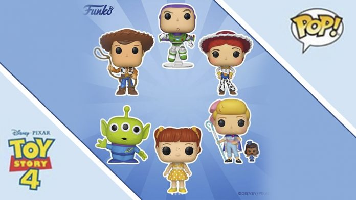 ab86358881 Toy Story 4 ganha nova coleção de Funko Pop - Geek Publicitário