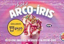 Shake Arco-Íris Burger King