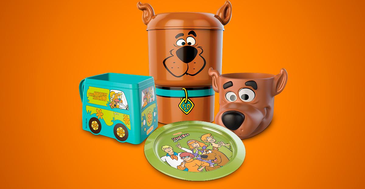 Giraffas Apresenta Brindes Do Scooby Doo Geek Publicitario