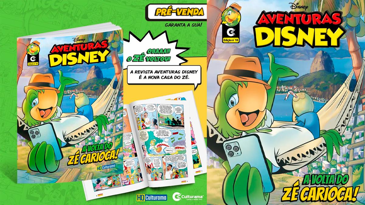 Zé Carioca volta a ter HQs publicadas no Brasil - Geek Publicitário