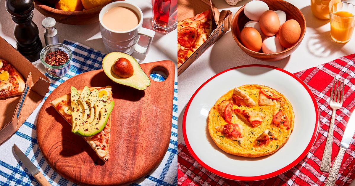 Receitas feitas pela Domino's Pizza Brasil